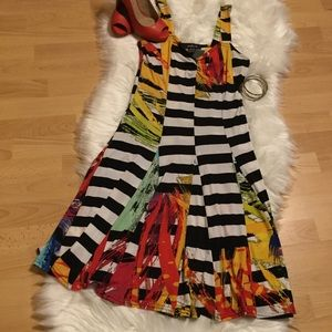 Sophie A....funky colorful summer dress